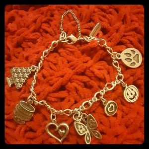 James Avery Bracelet w/ 7 Charms. Must sell.